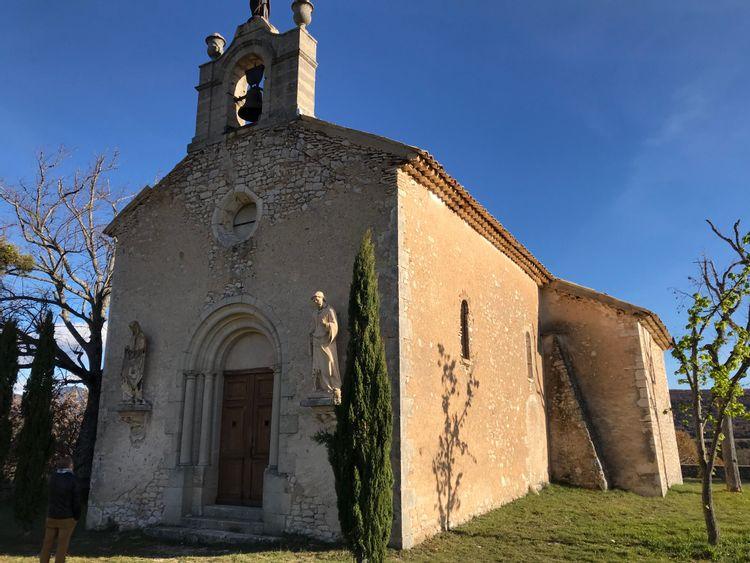 Chapelle Notre-Dame des Anges à Banon