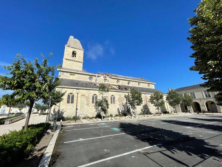 Eglise de Saint Nicolas de Bourgueil