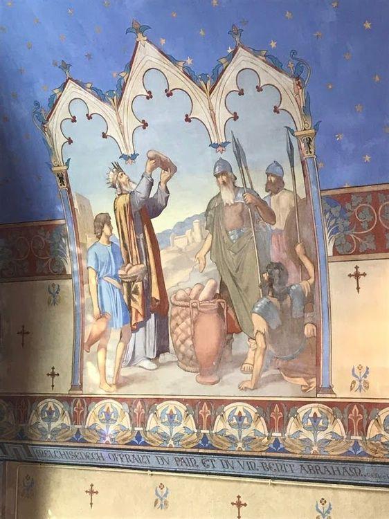 Peintures murales de l'église de Larochemillay