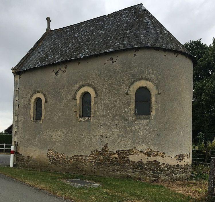 Chapelle Sainte-Barbe à Saint-Germain-de-Coulamer