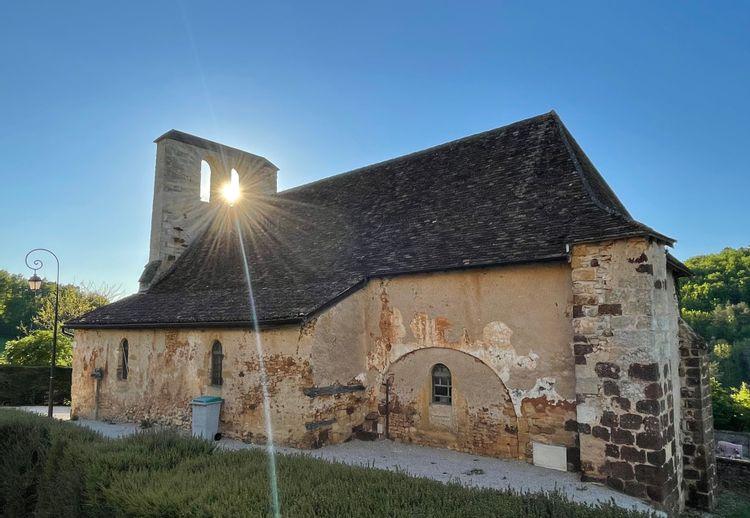 eglise de saint-saturnin à rouffignac saint-cernin de reilhac