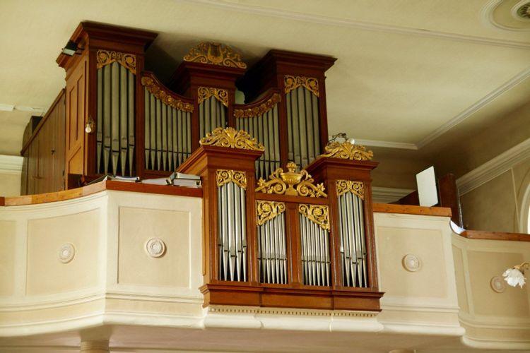 orgue callinet de l'église saint-léger de lutter