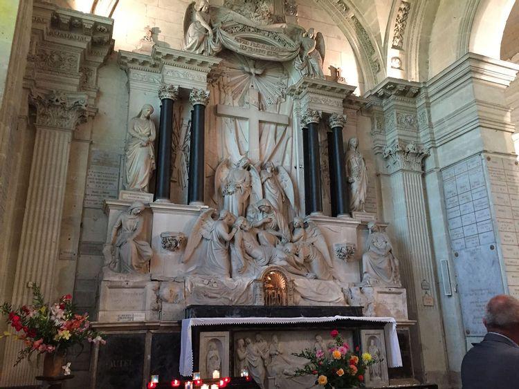 retable de la chapelle royale des ardilliers