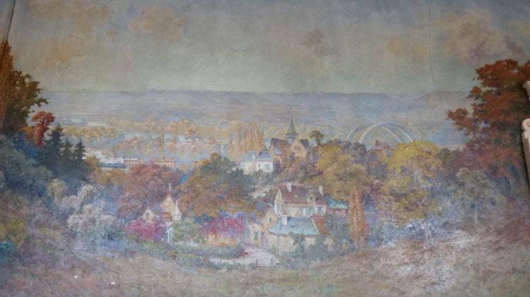 Les peintures murales de la mairie de Saint-Pierre-du-Vauvray