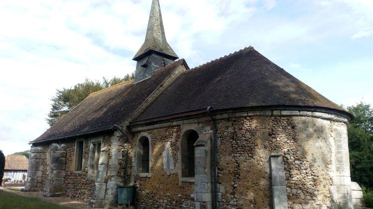 L'église de Saint-Germain-de-Pasquier