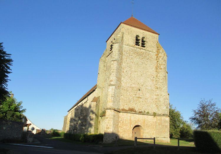 Eglise abbatiale Saint-Jean-Baptiste de Vendières