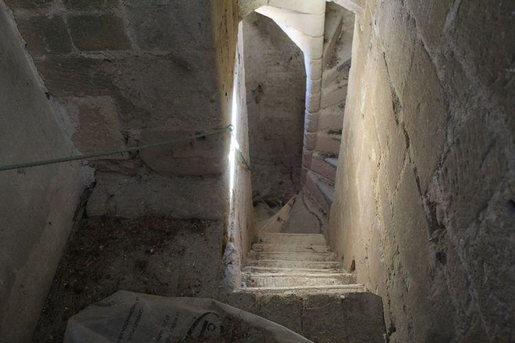 Escalier intérieur du beffroi