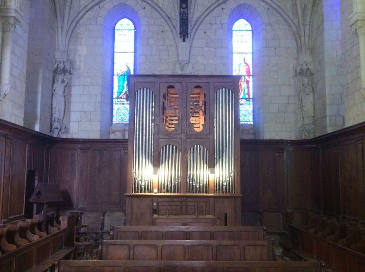 orgue de l'église saint médard