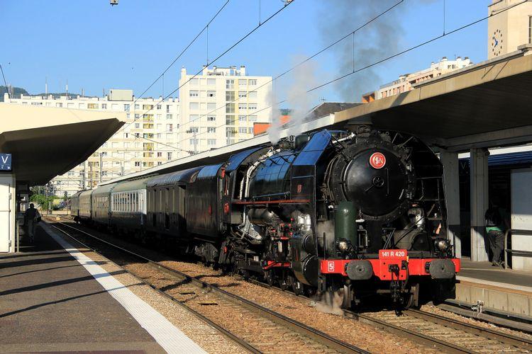 Train à vapeur de Clermont-Ferrand