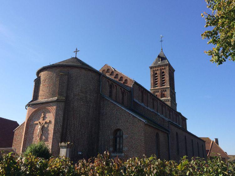 eglise saint-adrien de bissezeele