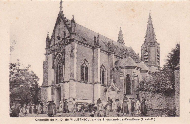 Chapelle Notre-Dame de Villethiou de Saint-Amand Longpré