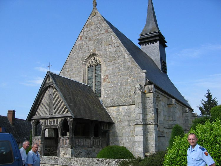 L'église Notre-Dame des Jonquerets-de-Livet (Mesnil-en-Ouche)