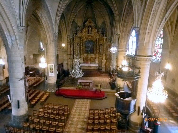 L'église Saint-Martin de l'Aigle