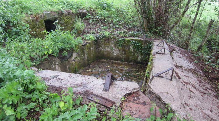 Lavoirs et fontaine à Chiddes