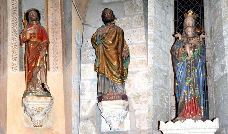 Restauration des statues de Bessay-sur-Allier