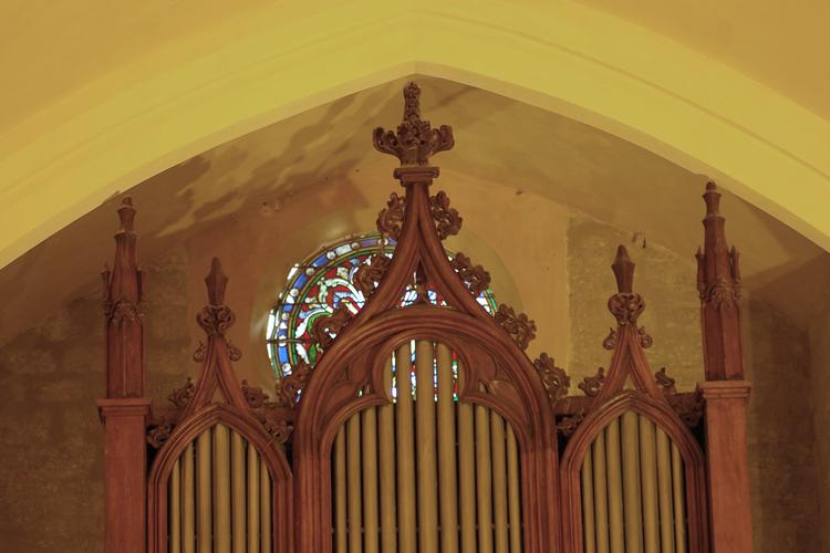 L'orgue de l'église Saint-Michel de Lanes