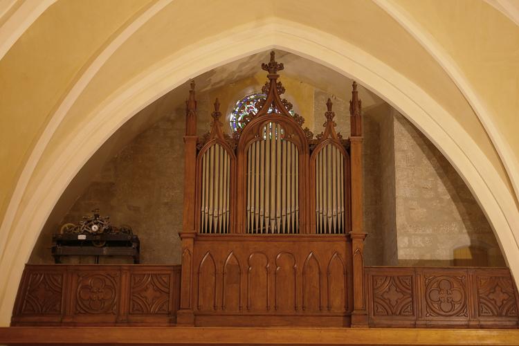 l'orgue de l'église saint-michel