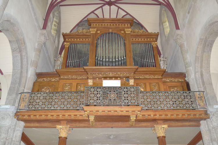 Orgue de l'église de Lannilis