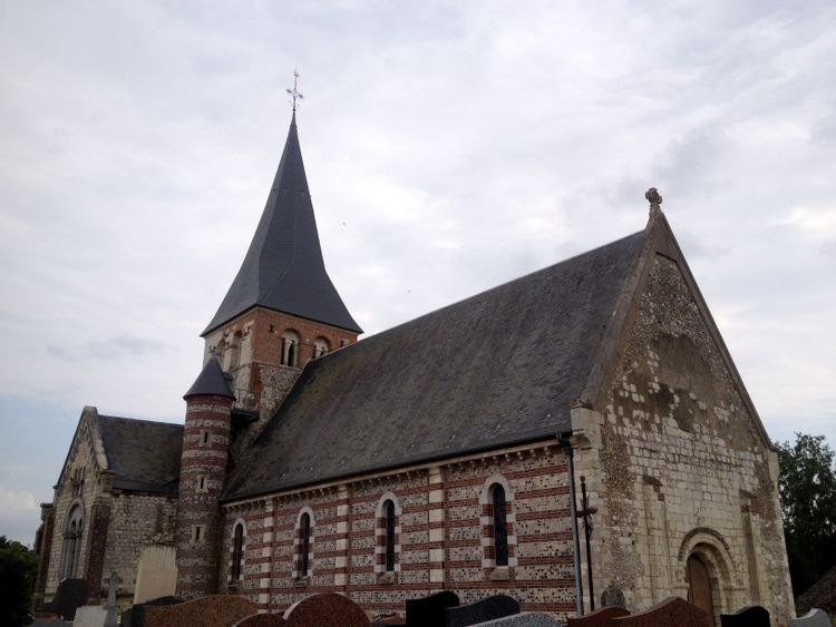 L'église Notre-Dame d'Osmoy-Saint-Valéry