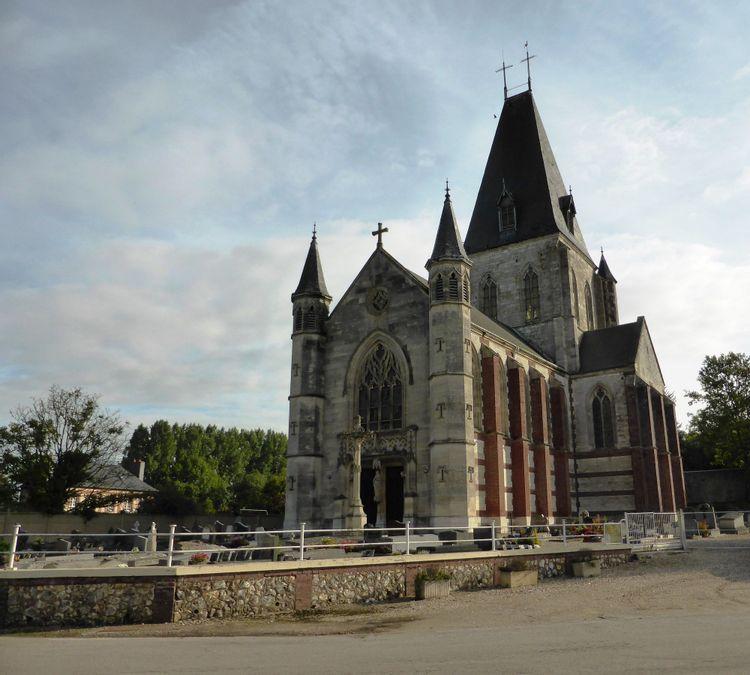 L'église Saint-Blaise et Notre-Dame d'Écretteville-lès-Baons