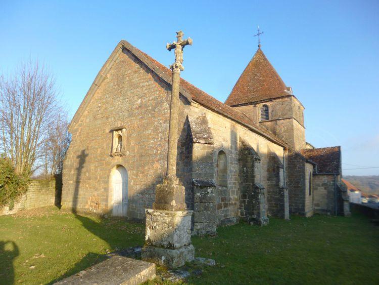 église de chauvirey le châtel