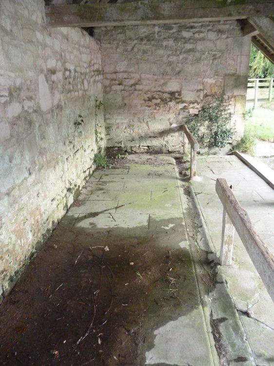 Intérieur du lavoir