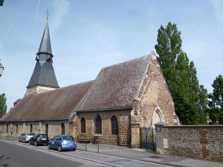 L'église Saint-Jean de l'Aigle