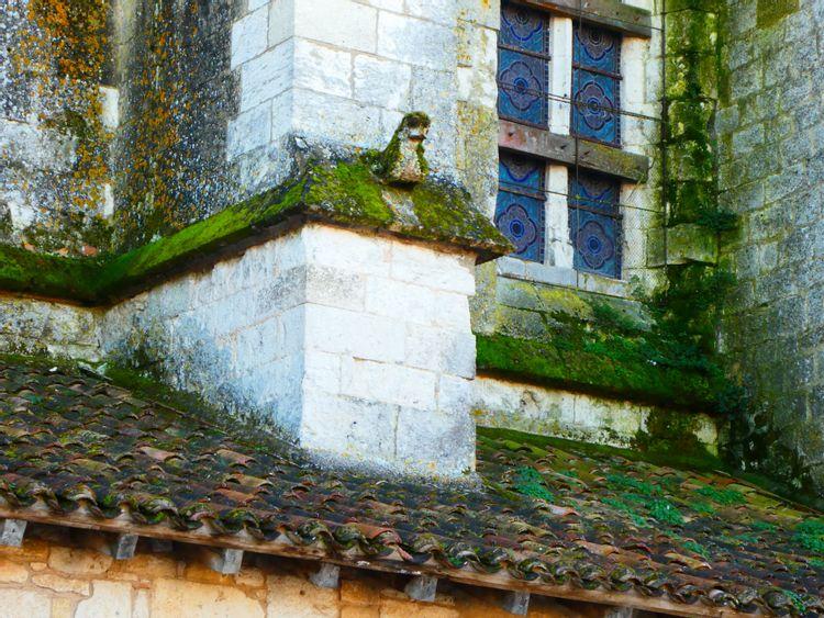 Détail architecture église