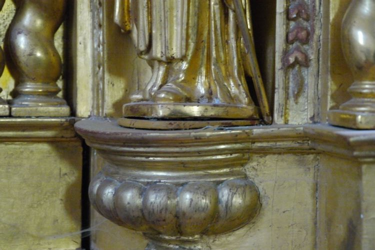 Retable de l'église de Sainte-Thérence