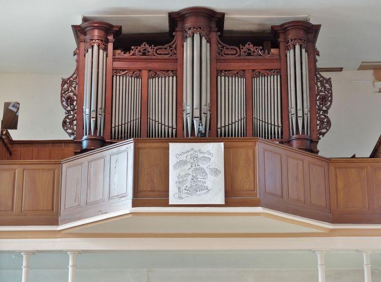 orgue de l'église saint-sébastien de geishouse