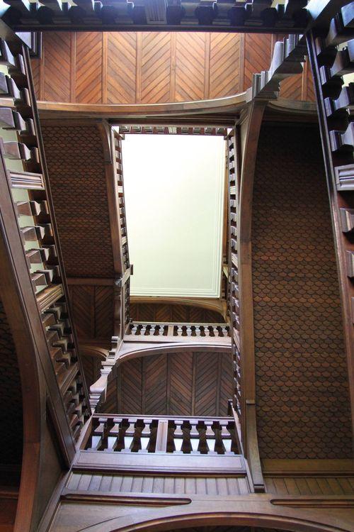 Escalier du Pavillon Balsan
