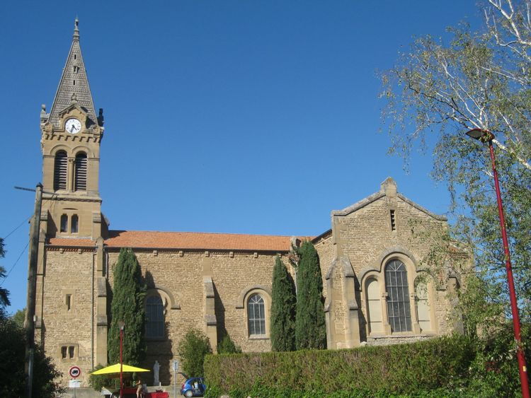 Eglise de Génissieux dans la Drôme