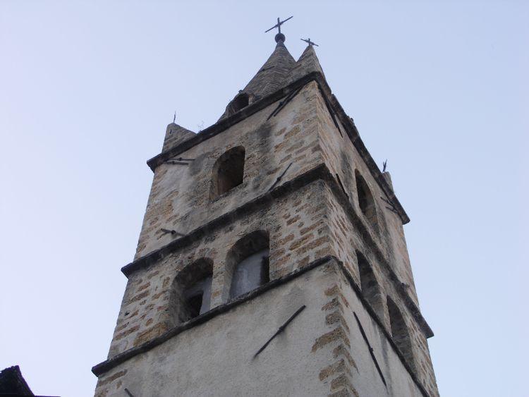 vue de la tour de l'église