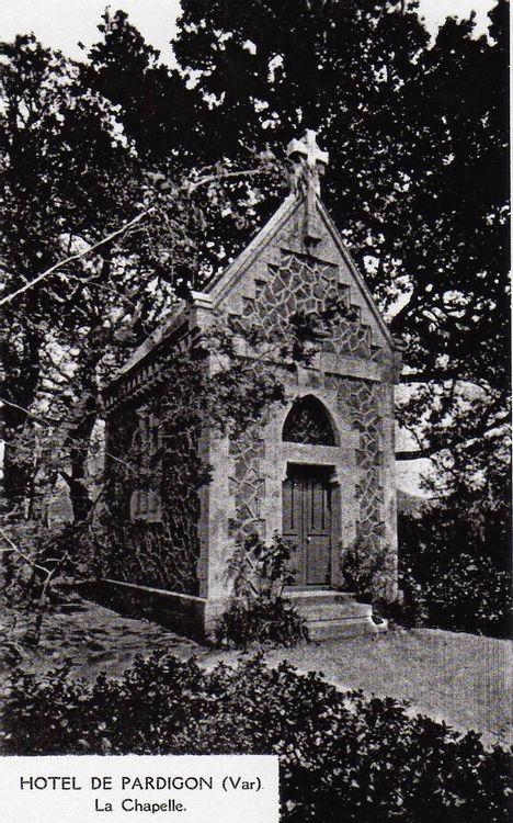 Crédits : Chapelle de Pardigon