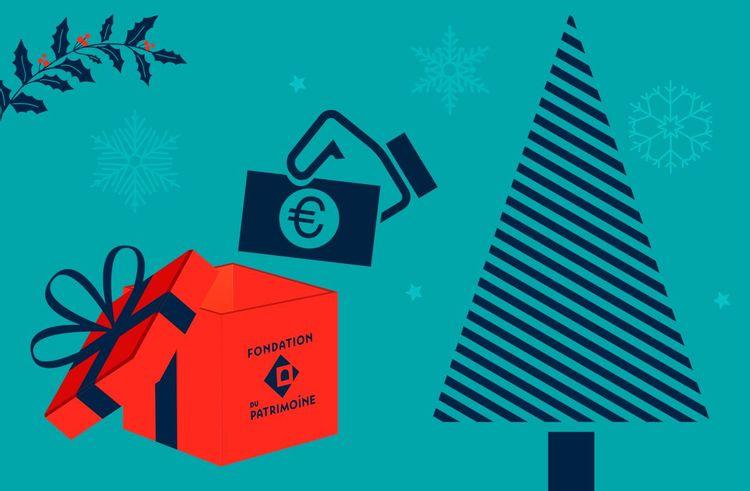 Pour Noël, faites un don à la Fondation du patrimoine et soutenez l'économie locale