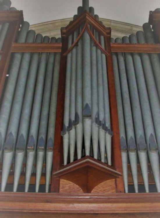 Orgue de l'église Saint Affrique dans l'Aveyron