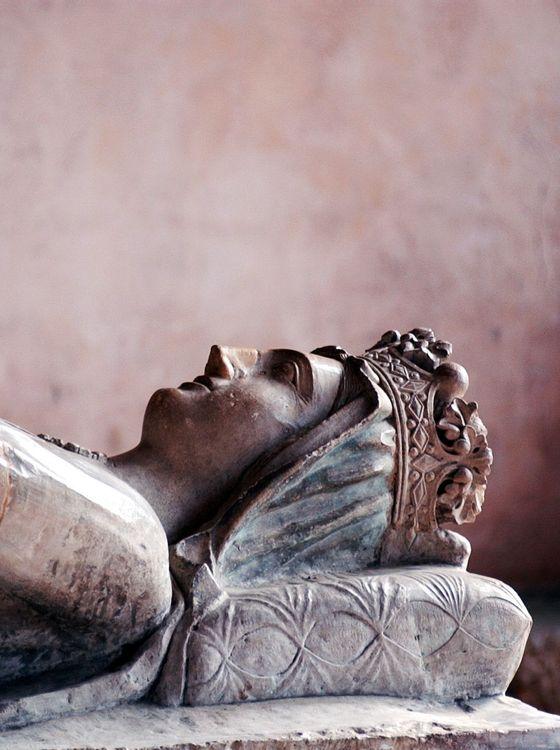 Détail du gisant