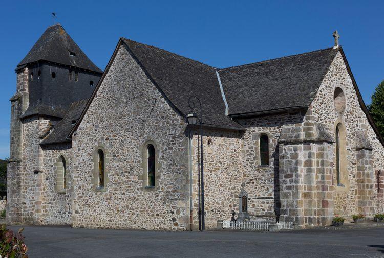 Église Saint-Martial d'Orgnac-sur-Vézère