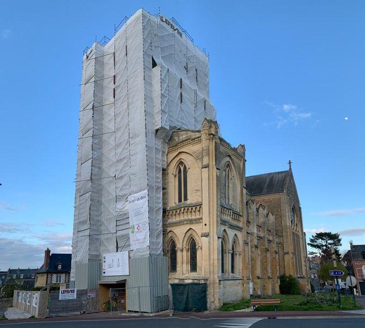 L'église Saint-Martin de Villers-sur-Mer