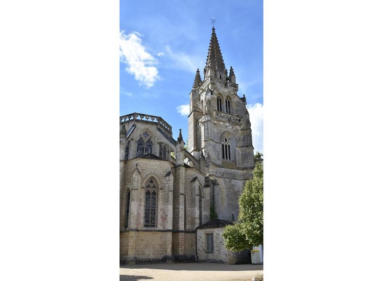 vue extérieur église
