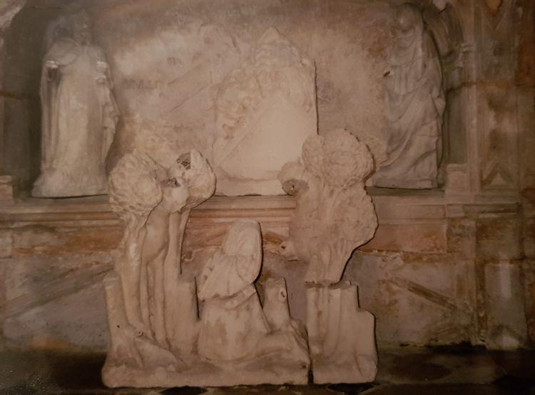 Statue de Saint-Hubert de l'église de Menetou-Couture dans le Cher : projet de réhabilitation