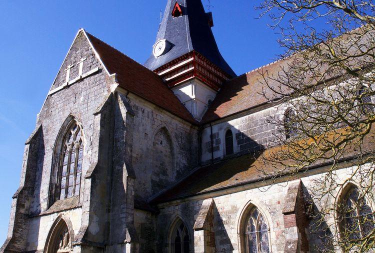 L'église Saint-Sauveur de Beaumont-en-Auge