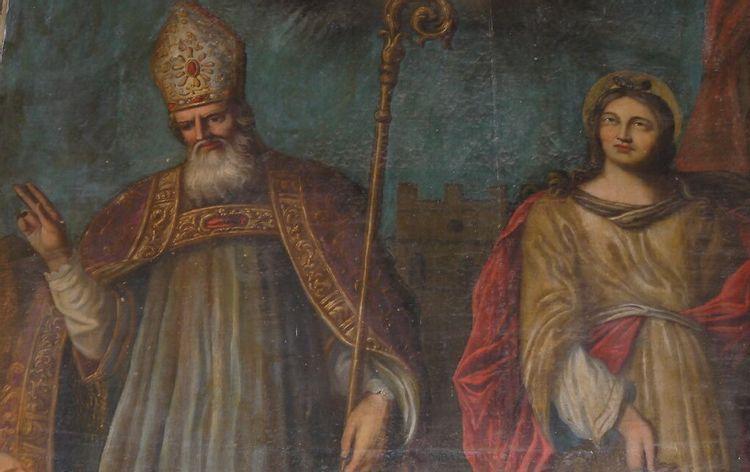 Tableau Saint Clair et Sainte Euphémie, Artignosc-sur-Verdon
