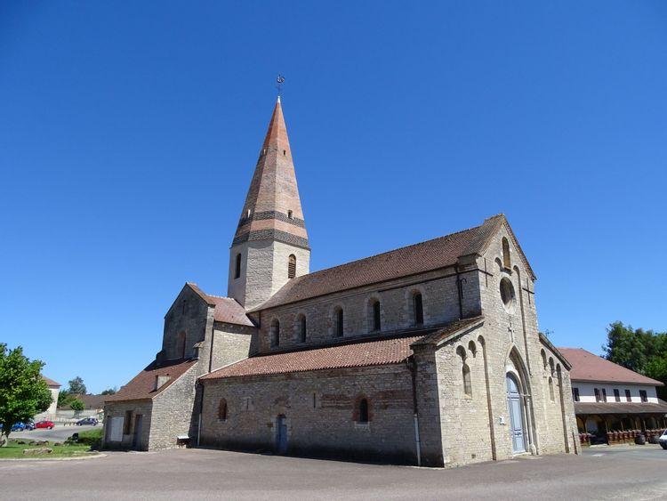 Eglise de St Christophe en Bresse