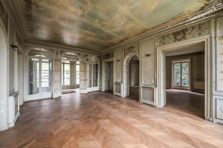 Grand salon de la villa Viardot à Bougival