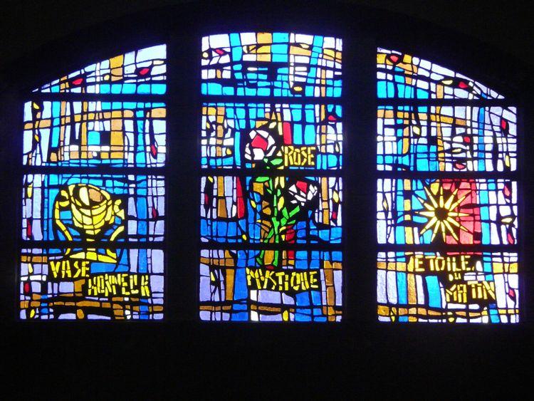 Vitrail de l'église Saint-Rémi © Mairie de Camaret-sur-Mer