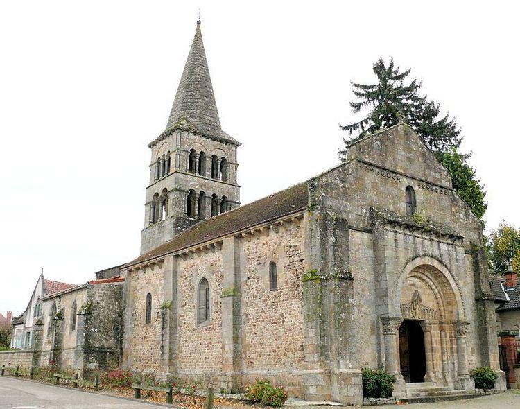 eglise saint-julien de meillers