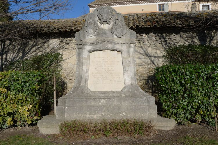 Monument Salviati à L'Isle-sur-la-Sorgue
