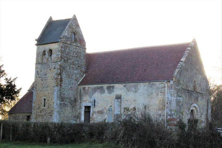 L'église Sainte-Anne d'Angoville