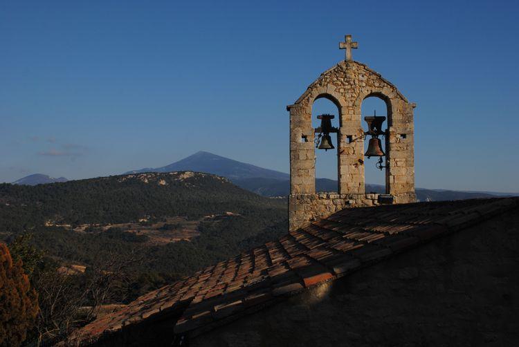 Église romane de Suzette dans le Vaucluse : projet de sauvegarde
